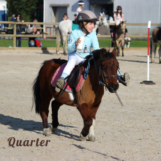 PONY GAMES Quarter